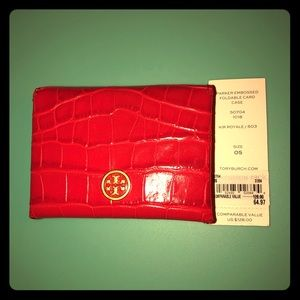 Tory Burch Parker Card Case
